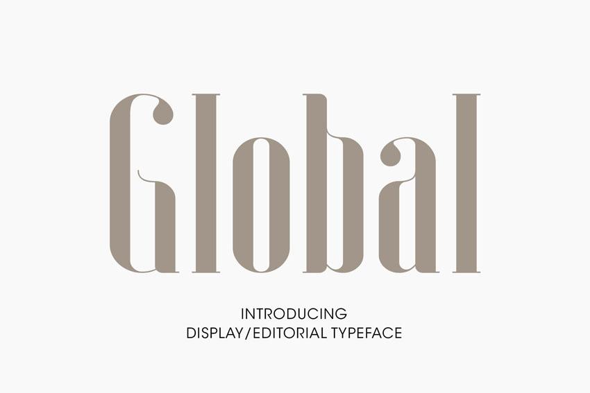 Global Long Didot Style Fonts
