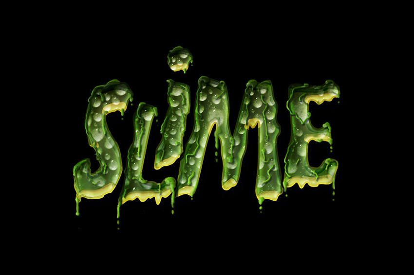 Slimey Halloween Text Effect by Giallo