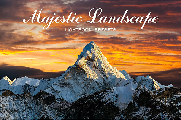 Majestic Landscape Lightroom Presets