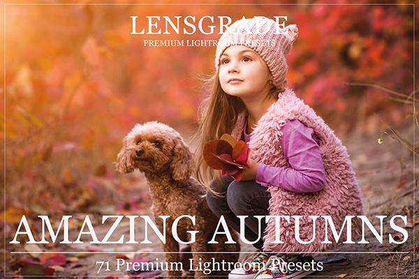 71 Autumn Lightroom Presets