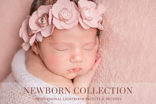Newborn Lightroom Preset and Brushes