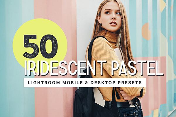 50 Pastel Lightroom Presets + LUTs