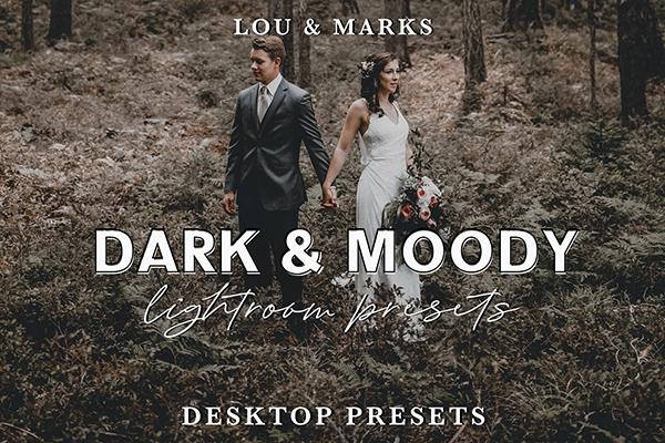 Dark & Moody Lightroom Presets