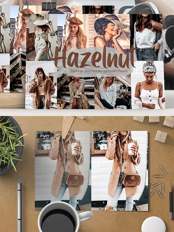 Hazelnut Lightroom Presets