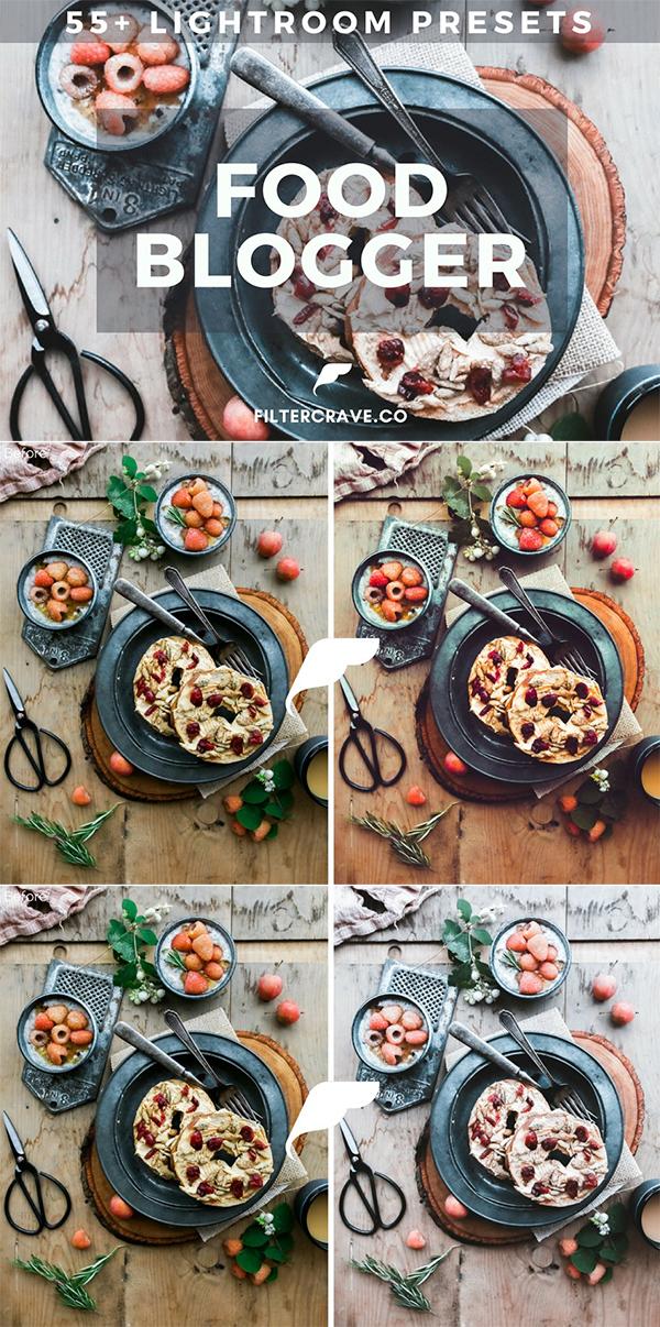 Food Blogger Lightroom Presets