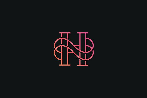 Luxury Initial H Logo Design Vector