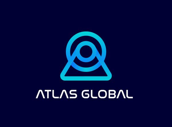Altas global logo design by winmids