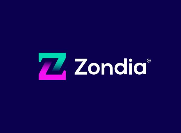 'Z' Lettermark - Zondia Logo Design by Sanaullah Ujjal •