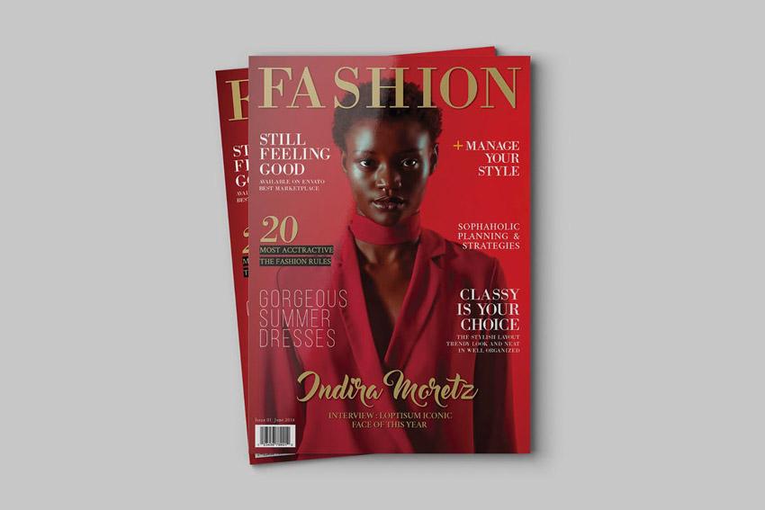 didone magazine cover