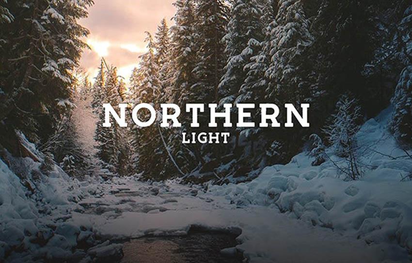 Northern Light Block Serif Font