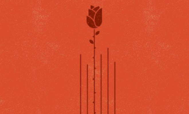 valentine card guitar music icon