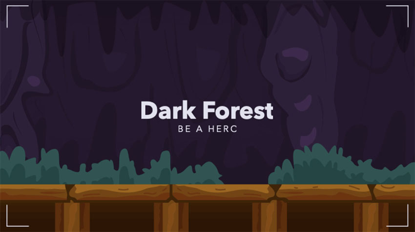 Discord Dark Theme Featuring a Forest Background