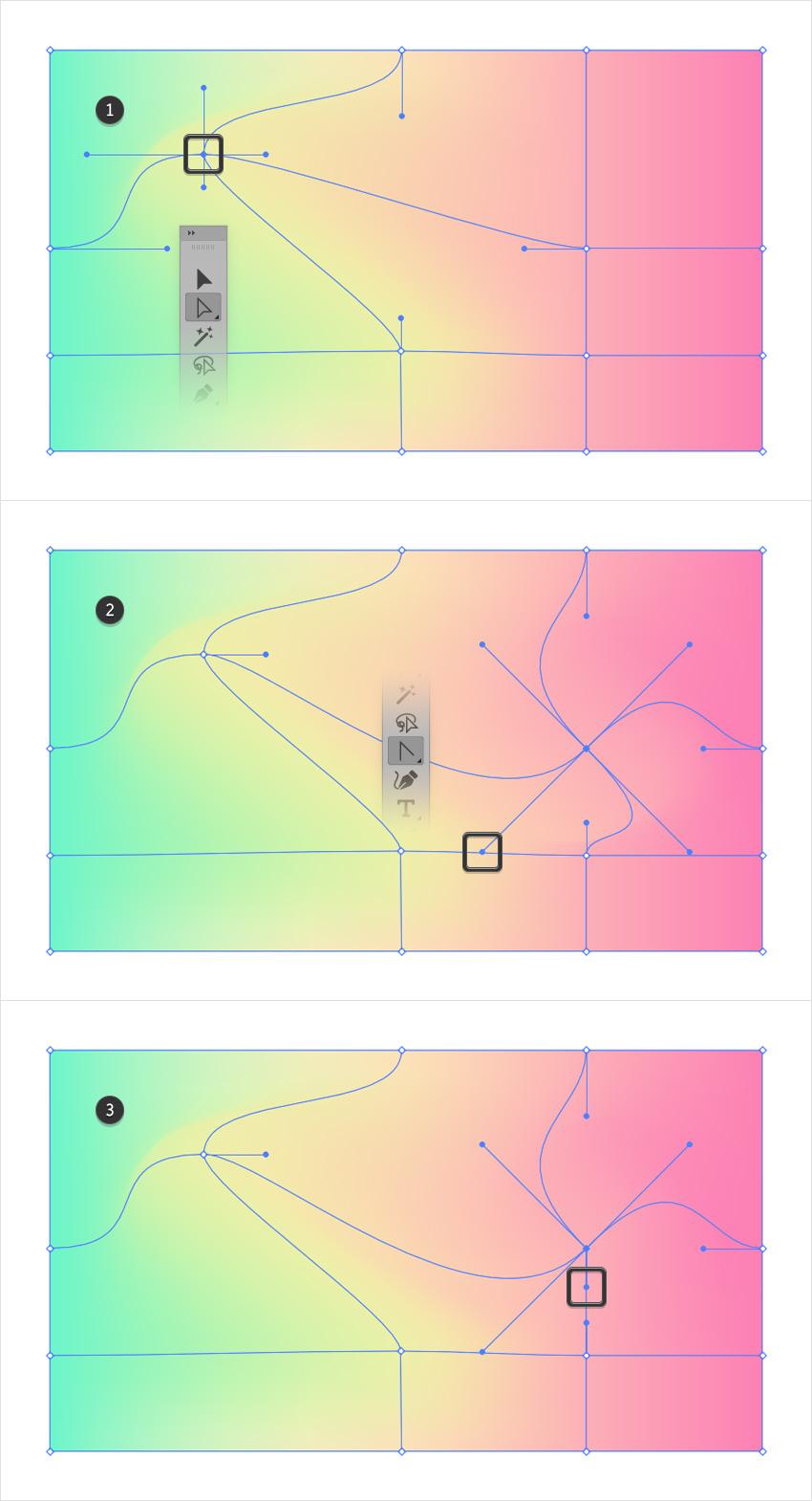 mesh point adjust