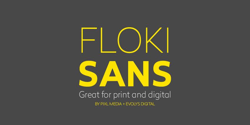 Floki Sans Font