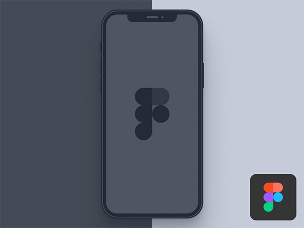 Figma Free Download - iPhone 12 Pro (Light & Dark)