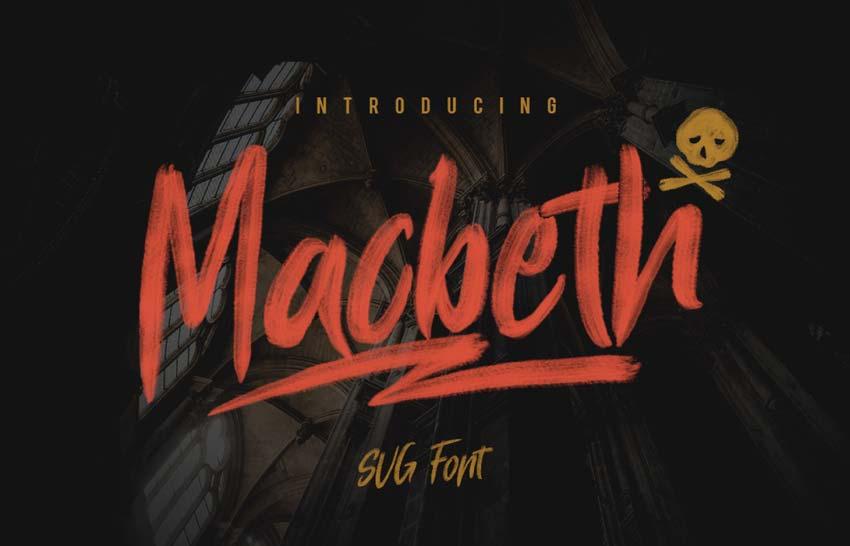 Macbeth Free Font