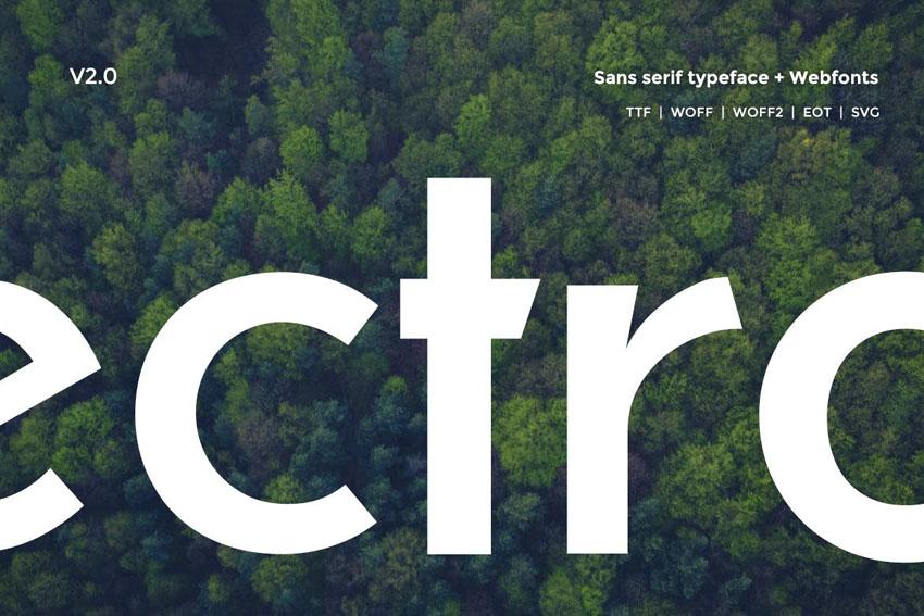 Electro Sans Typeface