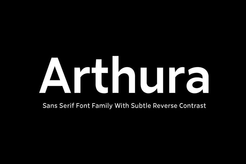 Arthura Sans Serif Font Family