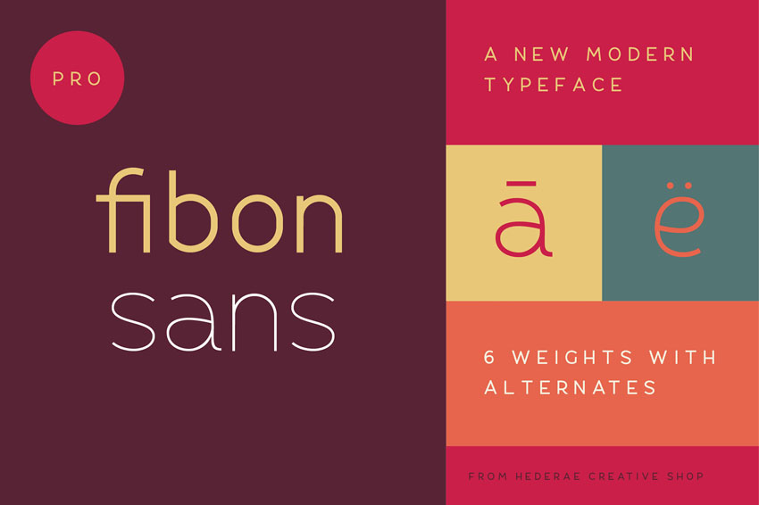 Fibon Sans Humanist Sans Serif