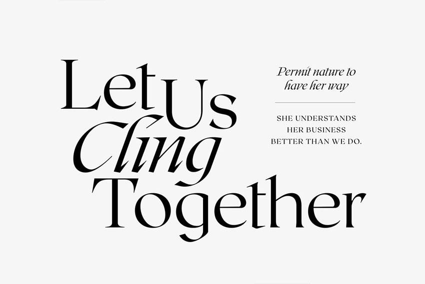 humanist serif typefaces