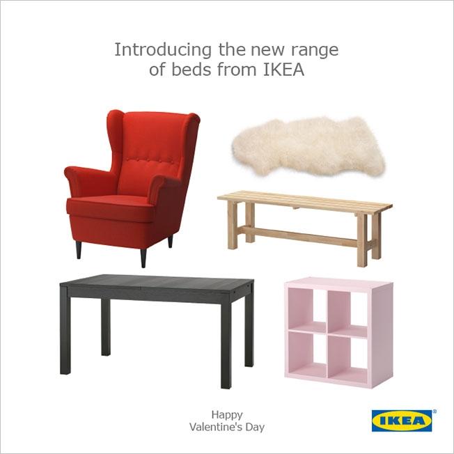 Ikea's Valnetine's Day Ad