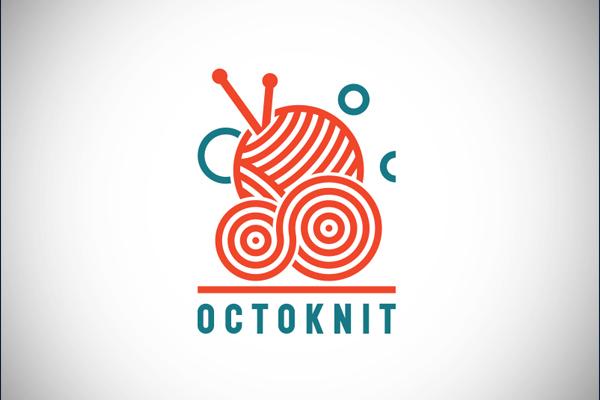 Octoknit Logo by Kasper van Eerden