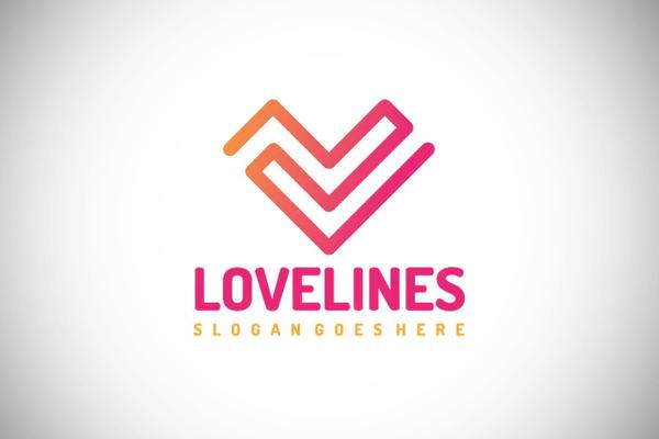 Love Lines Logo