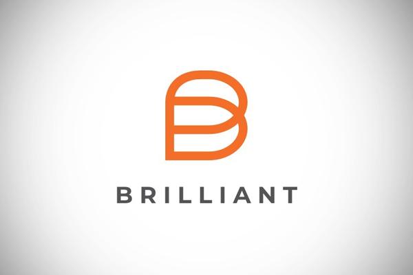 Brilliant - Letter B Logo