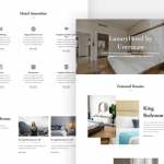 Luxury Hotel: Free HTML template
