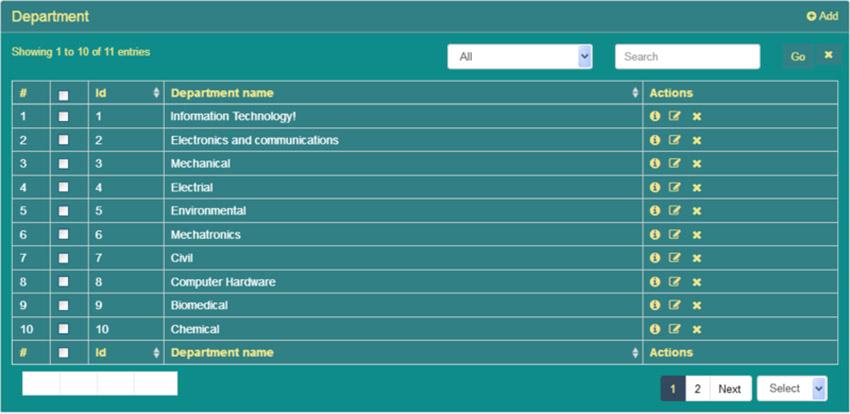 Advanced PHP CRUD Tutorial Green Theme