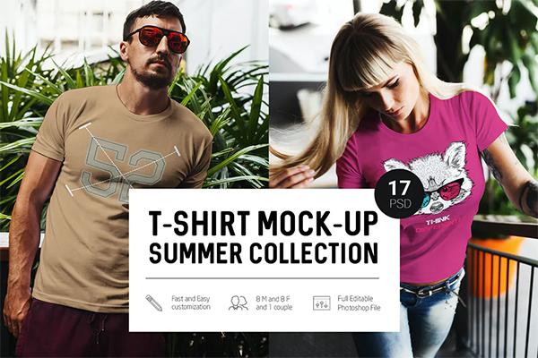 Fresh T-Shirt Mock-Up