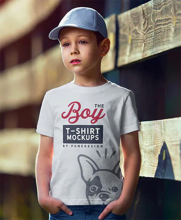 The Boy T-Shirt Mock-Up Set