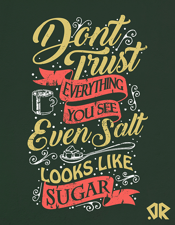 30 Remarkable Lettering Quotes and Typography Designs for Inspiration - 29