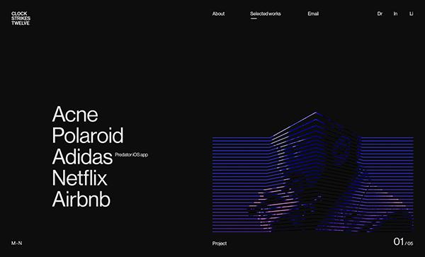Web Design: 34 Modern Website UI / UX Design Examples - 24