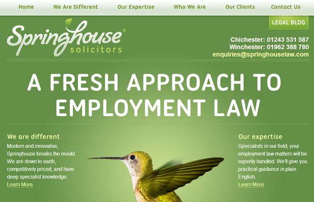 environmental law specialists firm springhouse green website