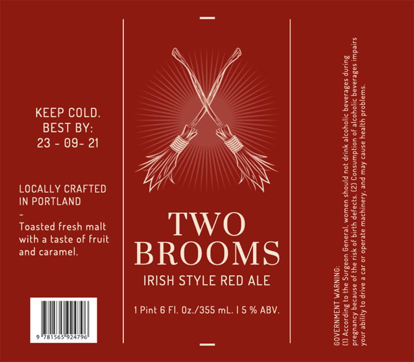 Make Your Own Beer Labels with Broom Graphics