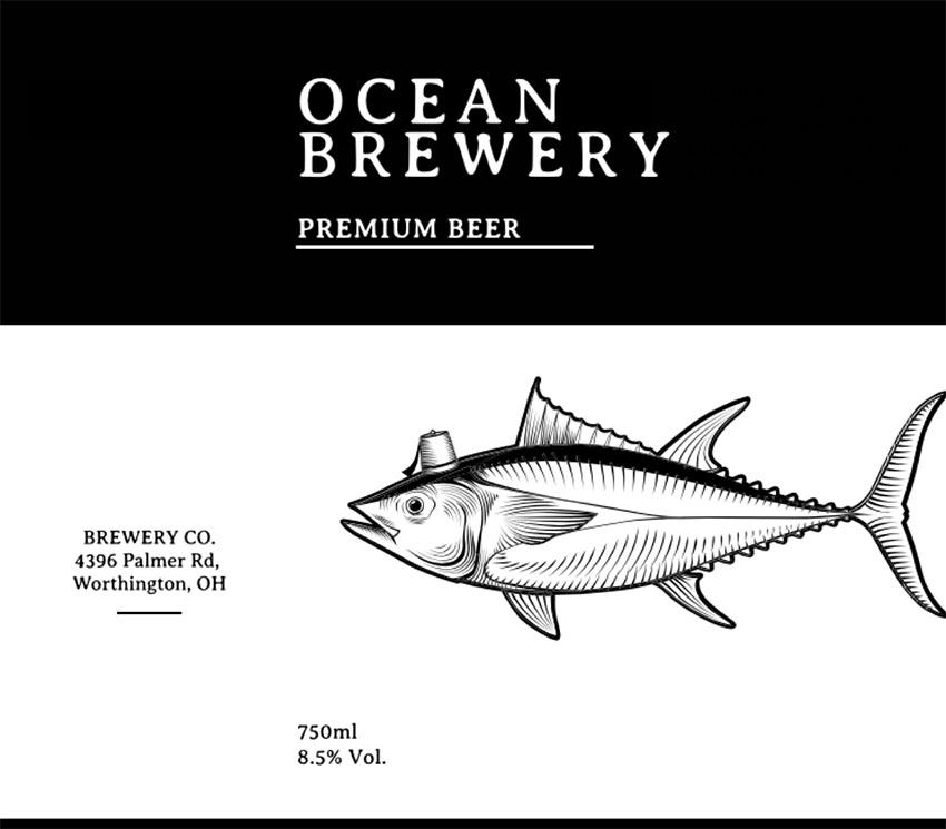 Craft Beer Label Designers Template