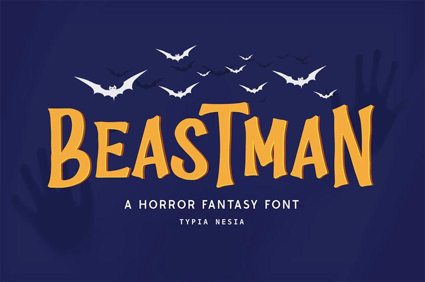 Beastman Fantasy Font