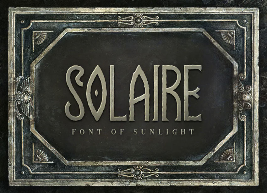 Fonts for Fantasy Book Covers