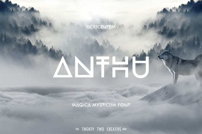 Anthu Fantasy Book Cover Fonts