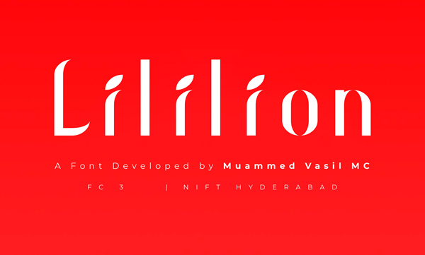 Lililion Free Font