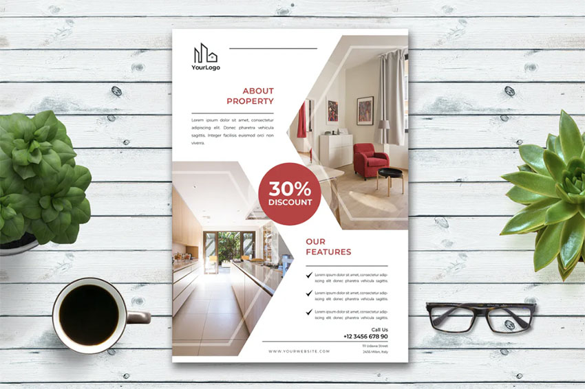 Real Estate Monthly Newsletter Template