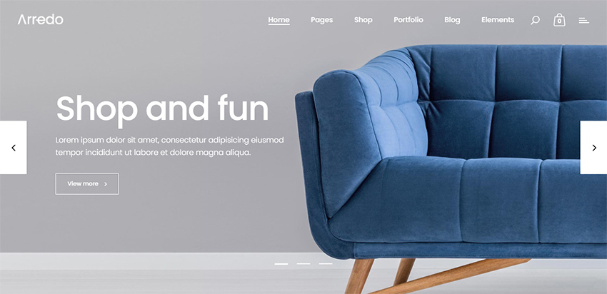 Arredo Clean WordPress Theme