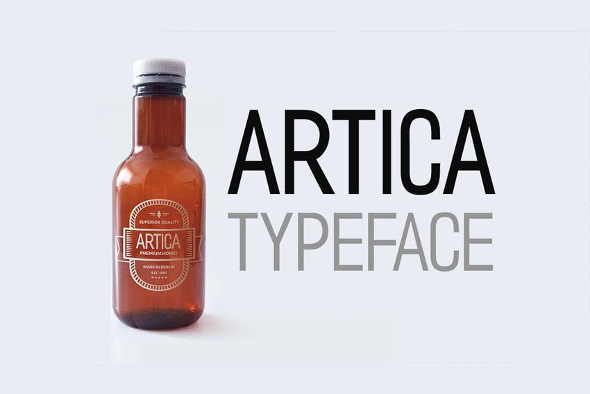 Artica Envato Elements Font