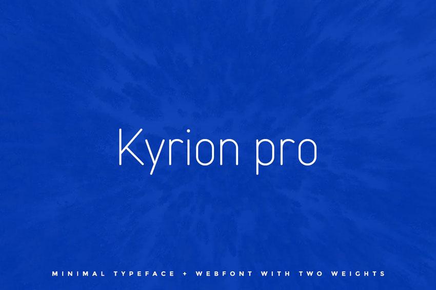 Kyrion Envato Elements Fonts
