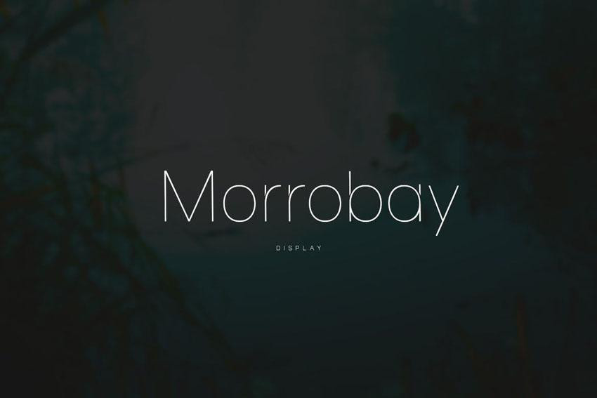 Morrobay Envato Elements Font