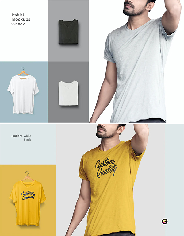 Simple Clean T-Shirt Mock-up
