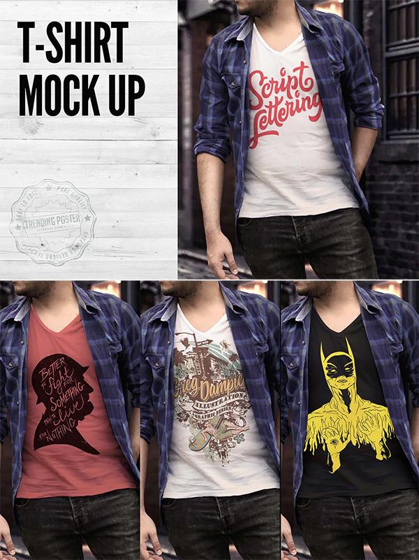 Urban T-shirt Mock Up