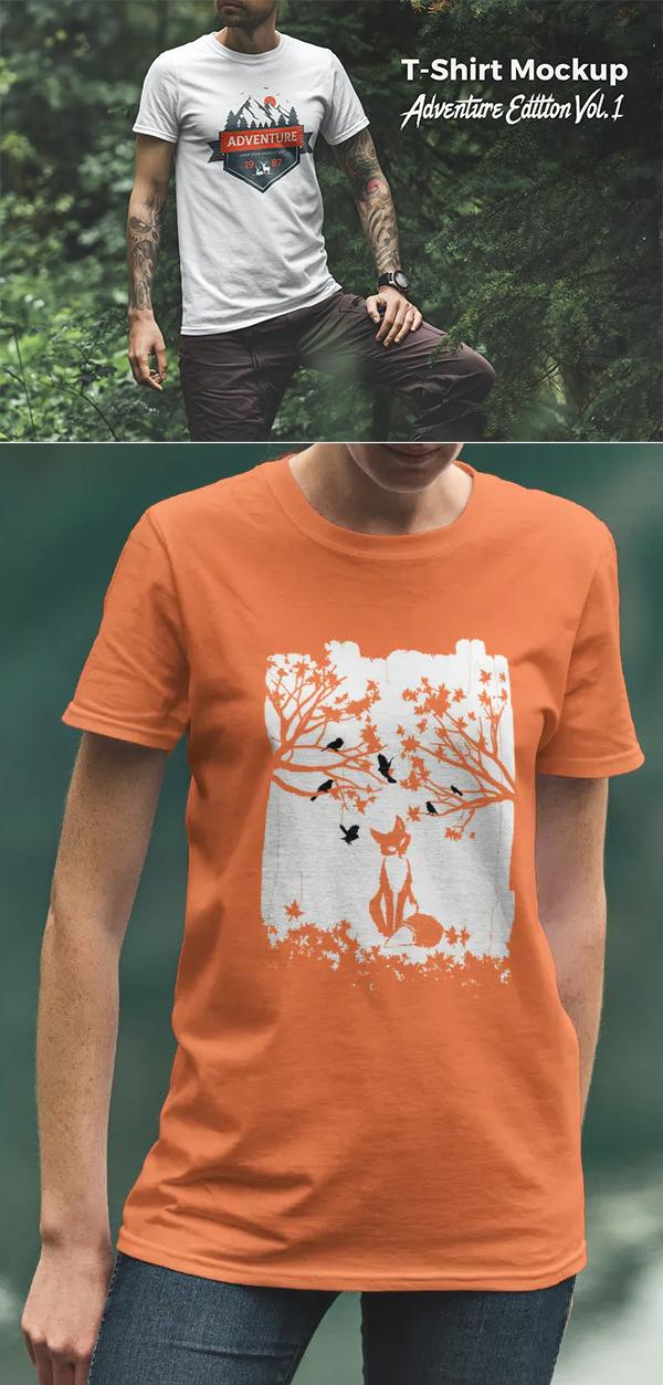 T-Shirt Mockup Adventure Edition