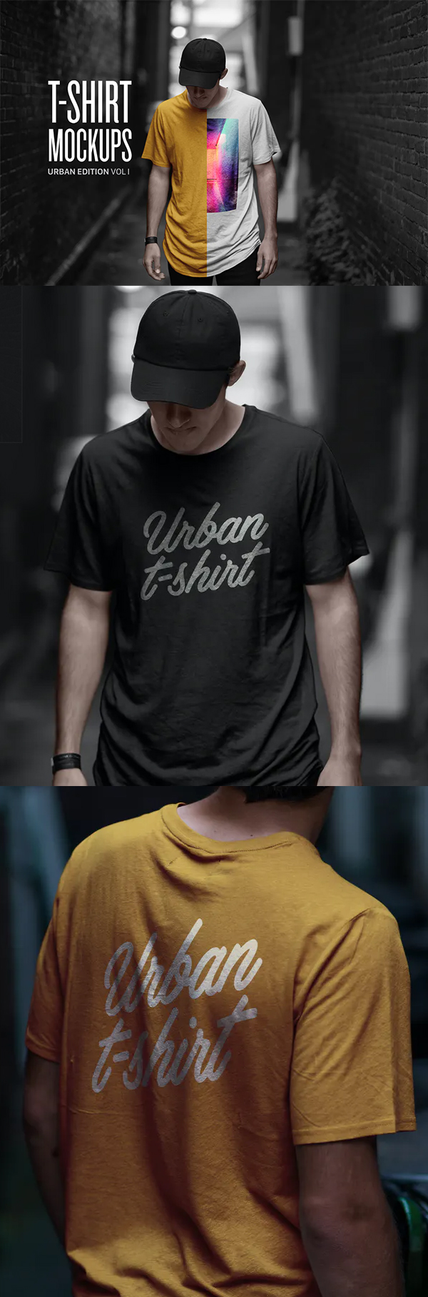 Creative T-Shirt Mockup